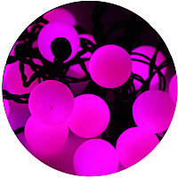 Светодиодная гирлянда ETP LSB-100L (10м, розовый) -