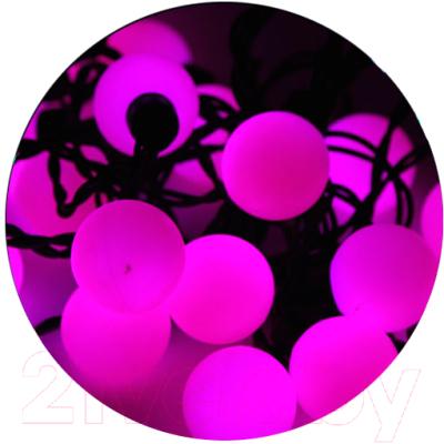 Светодиодная гирлянда ETP LSB-100L (10м, розовый)