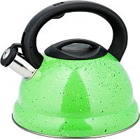 Чайник со свистком KING Hoff KH-3787 (3л, зеленый) -