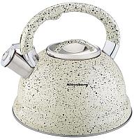 Чайник со свистком Klausberg KB-7047 (бежевый) -