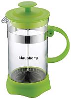 Френч-пресс Klausberg KB-7110 (зеленый) -