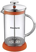 Френч-пресс Klausberg KB-7118 (оранжевый) -