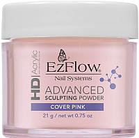 Акриловая пудра для ногтей EzFlow HD Cover Pink Powder (21г) -