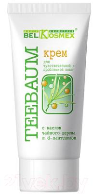Крем для лица BelKosmex Teebaum с маслом чайного дерева и D-пантенолом (80г)