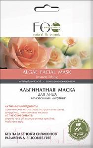 Купить Маска для лица сухая Ecological Organic Laboratorie, Альгинатная мгновенный лифтинг (20г), Россия