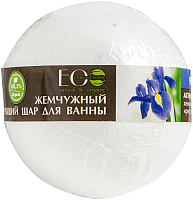 Бомбочка для ванны Ecological Organic Laboratorie Ирис и пассифлора (220г) -