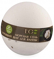Бомбочка для ванны Ecological Organic Laboratorie Мангостин и ваниль (220г) -