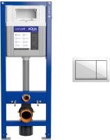 Инсталляция для унитаза Cersanit Aqua Smart M 40 / 63475 + P-BU-ENT/Wh -