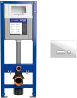 Инсталляция для унитаза Cersanit Aqua Smart M 40 / 63475 + P-BU-INT/Wh -