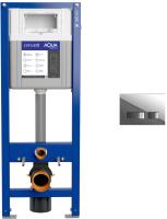 Инсталляция для унитаза Cersanit Aqua Smart M 40 / 63475 + P-BU-MOV/Cg -