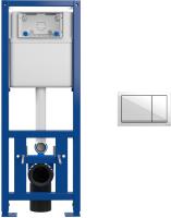 Инсталляция для унитаза Cersanit Link Pro S-IN-MZ-LINK_PRO + P-BU-ENT/Wh -
