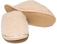 Тапочки домашние Smart Textile Домашнее тепло H520 (р-р 38-39, бежевый) -