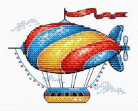 Набор для вышивания М.П.Студия Сказочный аэростат / М-365М -