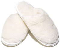 Тапочки домашние Smart Textile Эконом H520-3 (р-р 40-41, белый) -