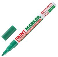Маркер строительный Brauberg Professional / 150870 (зеленый) -