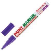 Маркер строительный Brauberg Professional / 150871 (фиолетовый) -