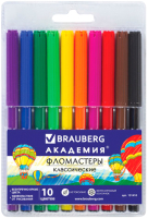 Фломастеры Brauberg Академия / 151410 (10шт) -