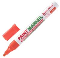 Маркер строительный Brauberg Professional / 151437 (оранжевый) -