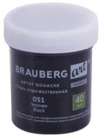Гуашь Brauberg Art Classic / 191568 (черный) -