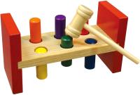 Развивающая игрушка Mapacha Стучалка. Забей колышек / 76818 -