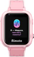 Умные часы детские Aimoto IQ 4G / 8108801 (розовый) -