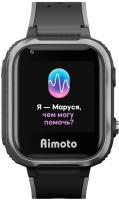 Умные часы детские Aimoto IQ 4G / 8108802 (черный) -