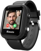 Умные часы детские Aimoto Pro 4G / 8100801 (черный) -