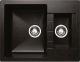 Мойка кухонная Granicom G017-01 (антрацит) -