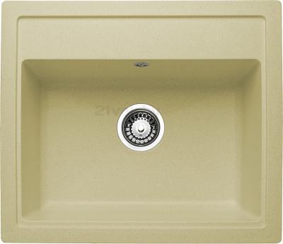 Мойка кухонная Granicom G019-07 (сахара) - реальный цвет модели может немного отличаться от цвета, представленного на фото