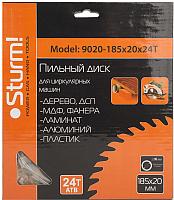 Пильный диск Sturm! 9020-185-20-24T -