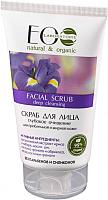 Скраб для лица Ecological Organic Laboratorie Глубокое очищение для проблемной жирной кожи (150мл) -