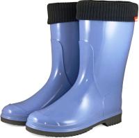 Резиновые сапоги детские Alisa Line Teen 401 утепленные (р.38, голубой) -