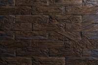 Декоративный камень РуБелЭко Кирпич древесный КД-005 (коричневый с травлением) -