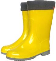 Резиновые сапоги детские Alisa Line Teen 401 утепленные (р.39, желтый) -