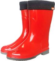 Резиновые сапоги детские Alisa Line Teen 401 утепленные (р.38, красный) -