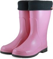 Резиновые сапоги детские Alisa Line Teen 401 утепленные (р.38, розовый) -