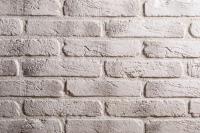 Декоративный камень РуБелЭко Древний кирпич ДК-002 (белый с тонировкой) -