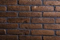 Декоративный камень РуБелЭко Древний кирпич ДК-004 (коричневый с травлением) -