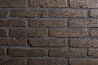 Декоративный камень РуБелЭко Древний кирпич ДК-005 (черный с травлением) -