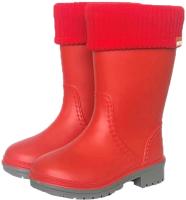 Резиновые сапоги детские Alisa Line Win 801 утепленные (р-р 34-35, красный) -