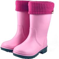 Резиновые сапоги детские Alisa Line Win 801 утепленные (р-р 40-41, розовый) -