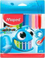 Фломастеры Maped Color Peps Ocean / 845720 (12шт) -