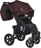 Детская прогулочная коляска Bubago Cross Air / BG2020 (бордовый) -