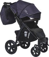 Детская прогулочная коляска Bubago Cross Air / BG2020 (роскошный фиолетовый) -