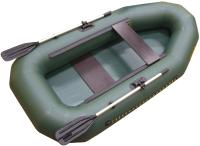 Гребная лодка Leader Boats Компакт-245 / 0073648 (зеленый) -