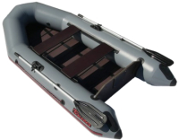 Моторно-гребная лодка Leader Boats Тайга-270Р / 0062245 (серый) -