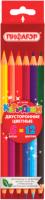 Набор цветных карандашей Пифагор 181366 (6шт) -