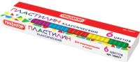 Пластилин Пифагор Классический / 103677 (6цв) -