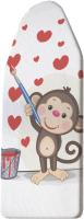 Чехол для гладильной доски JoyArty Сердечное настроение / ib_91967 -