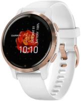 Умные часы Garmin Venu 2s / 010-02429-13 (розовое золото/белый) -